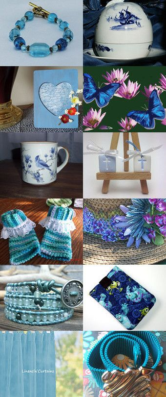 Blue Summer by Marilyn Gilmore on Etsy--Pinned with TreasuryPin.com