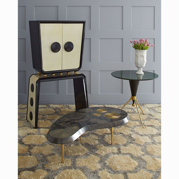 All New - Trocadero Kidney Cocktail Table Living Room Ideas