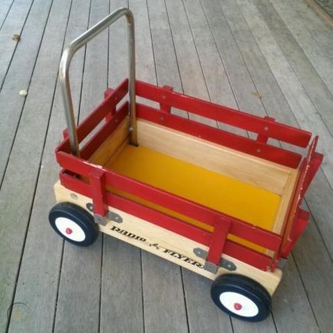Radio Flyer Walker Wagon Vintage Toy Baby Toddler 493860815 Vintage Toys Baby Memorabilia Radio Flyer