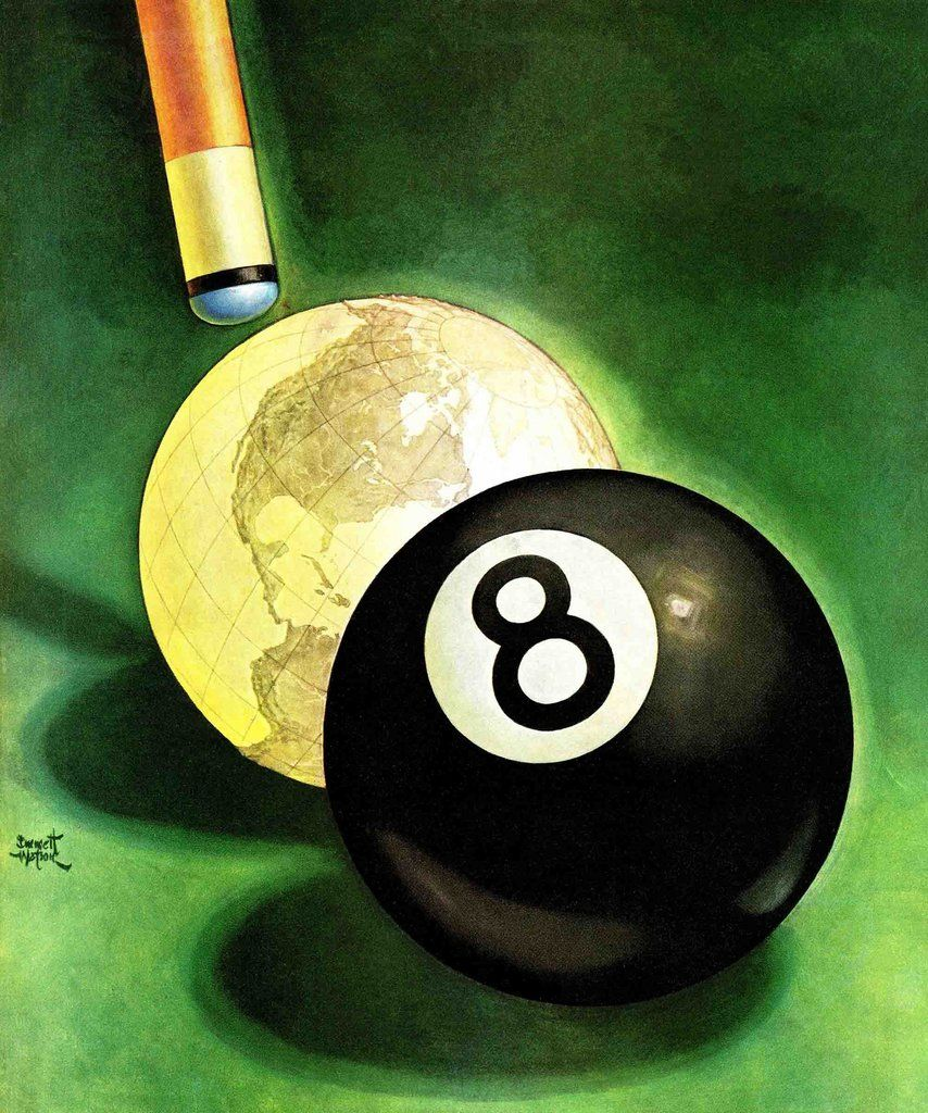 World as Cue Ball | Canvases and Galleries