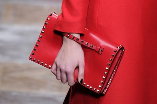 Seeing red at Valentino, Fall 2012