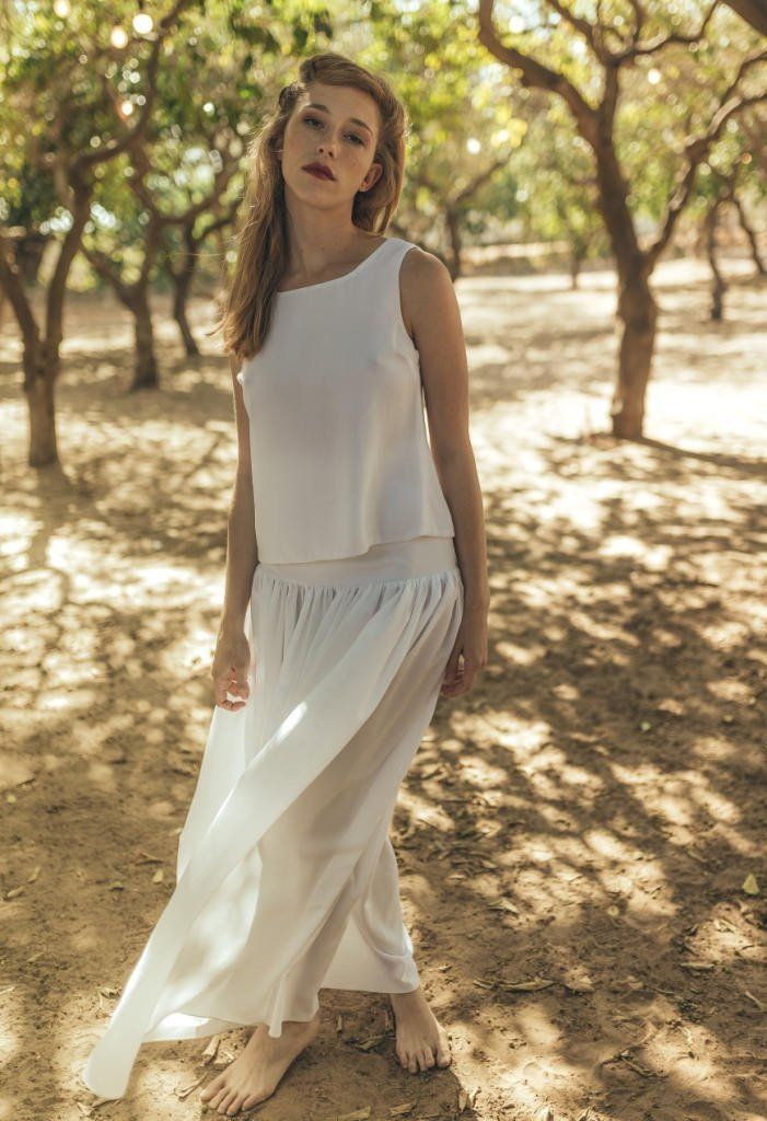 Casual Wedding Dress Boho Loose Simple Hippie Informal