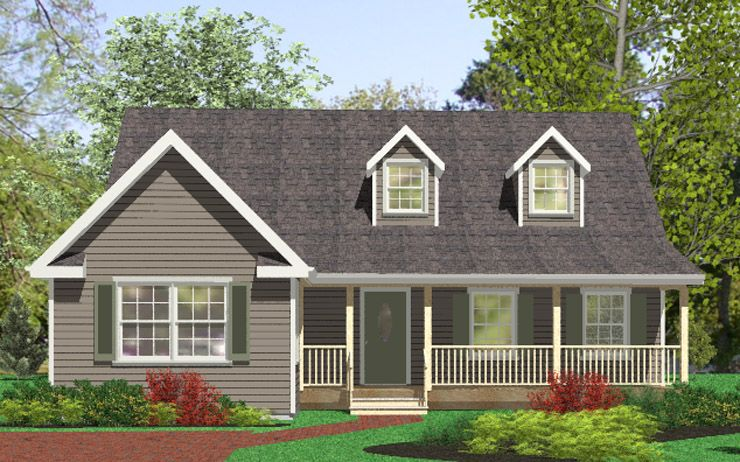 Newmarket Modular Home Floor Plan