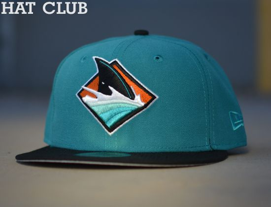 Custom San Jose Sharks 59Fifty Fitted Cap by NEW ERA   HAT CLUB ... 94f0589cb9f3