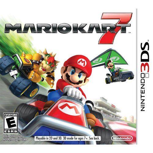 Video Games With Images Mario Kart 7 Mario Kart 3ds Mario Kart