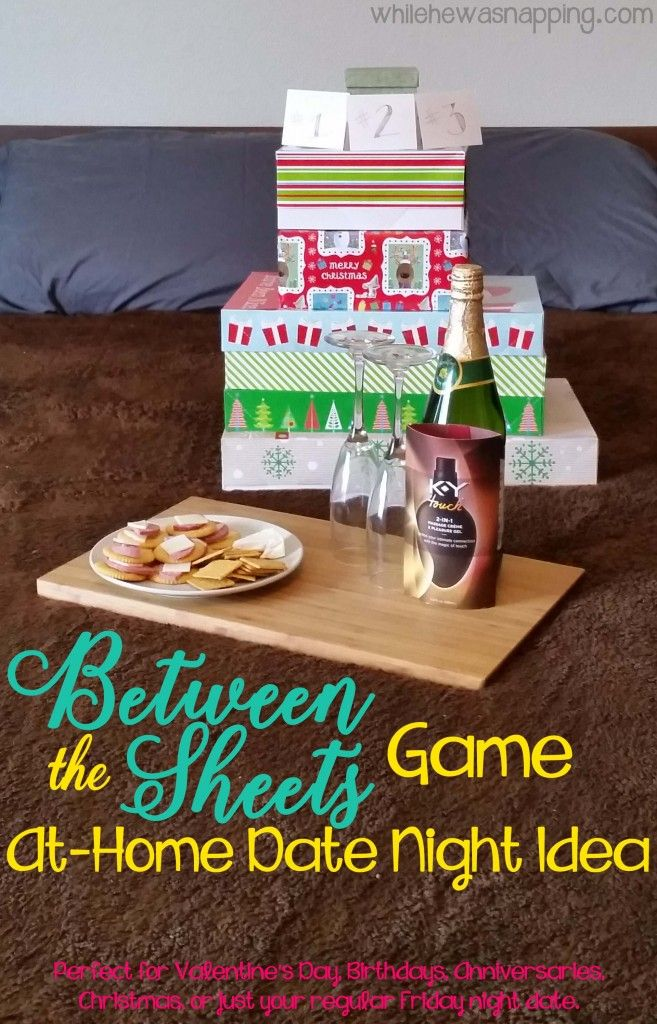 Between the Sheets Game At Home Date Night Idea At home