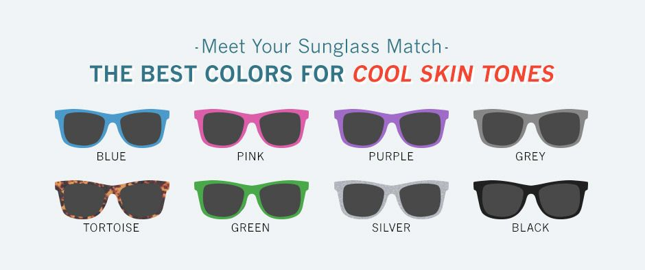The Best Sunglass Colors for Warm and Cool Skin Tones www.MeltingHeartsUSA.com