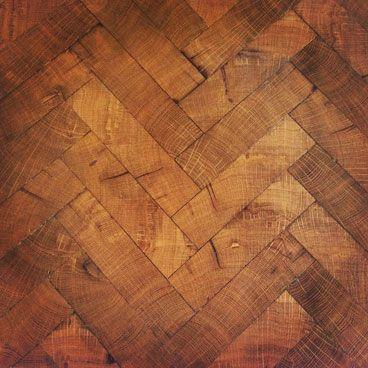 End Grain Herringbone Floors End Grain Flooring Flooring Wood
