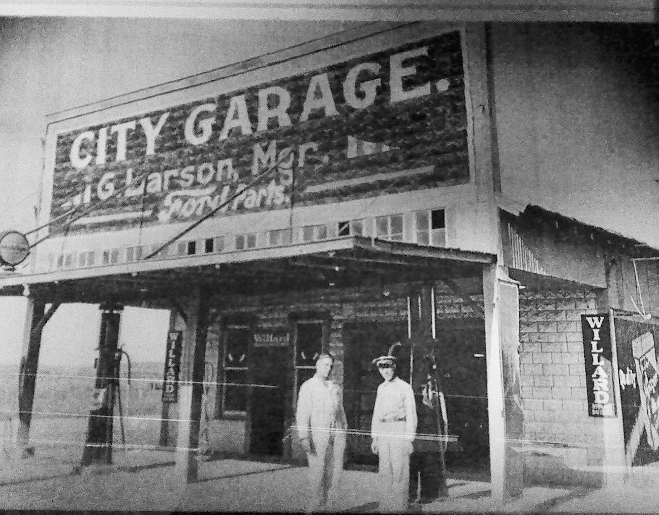 Photo of City Garage, in the same location as Horny Toad today....2855 Dairy Milk Lane, Dallas, Texas, 75229