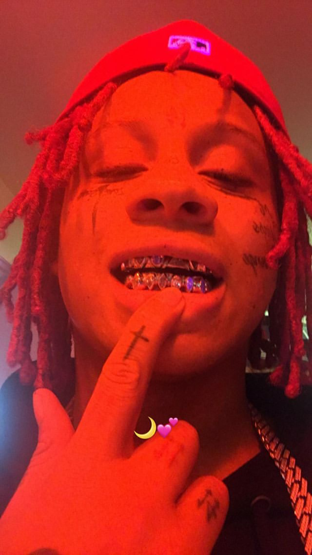Pin by Venus on rappers Trippie redd, Eyes wallpaper