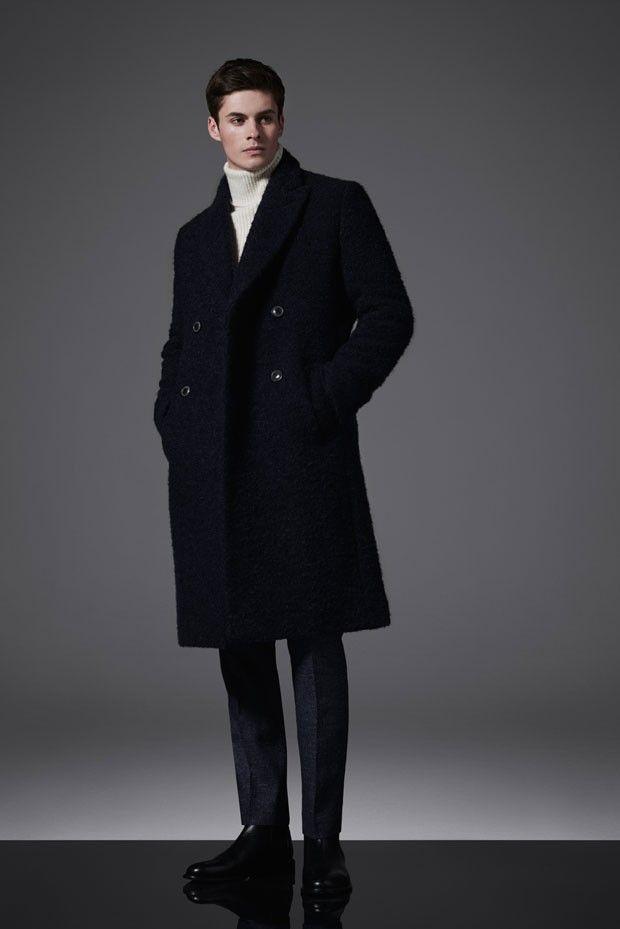 Joe Collier Models REISS Menswear Automne Hiver 2015   – Style