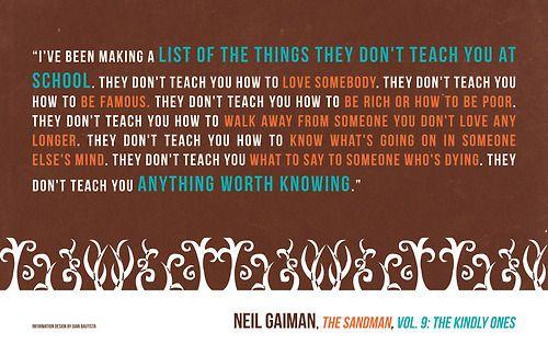 malventurado:  ―Neil Gaiman,The Sandman, Vol. 9: The Kindly Ones byGian Bautista