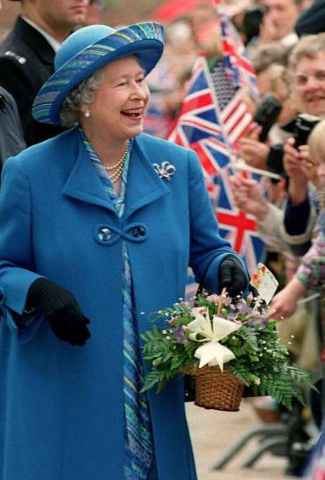 November 1997. 50th wedding anniversary. Queen Elizabeth