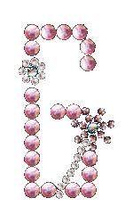 G | Bloemletters (TIP!) | glittermotifs