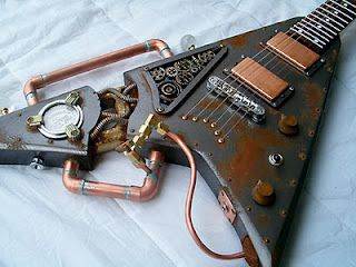 Wicked! SteamPunk Guitar