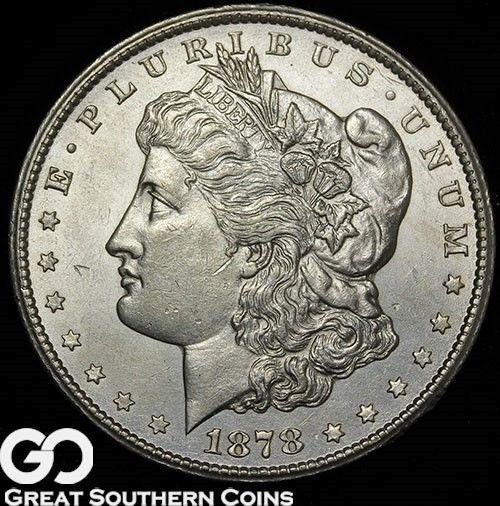 1878-CC Morgan Silver Dollar Dot CC Super Nice Gem BU Better Date Free S/H! https://t.co/1SInRQ96YW https://t.co/uOM3ay7TW4