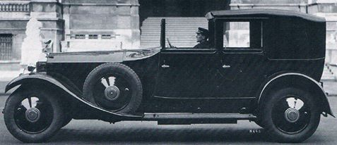 1928 Sedanca de Ville by Hooper (chassis 10EH) for Lord Strathcona