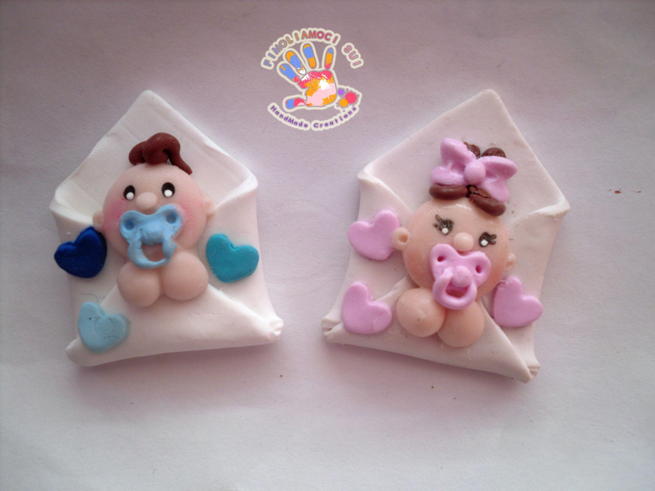 Fimo Bambini ~ Piccoli bimbi in busta in fimo ideas de porcelana fria