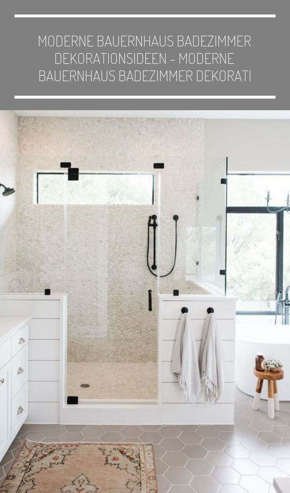 Moderne Bauernhaus Badezimmer 2020 Farmhouse Bathroom Modern