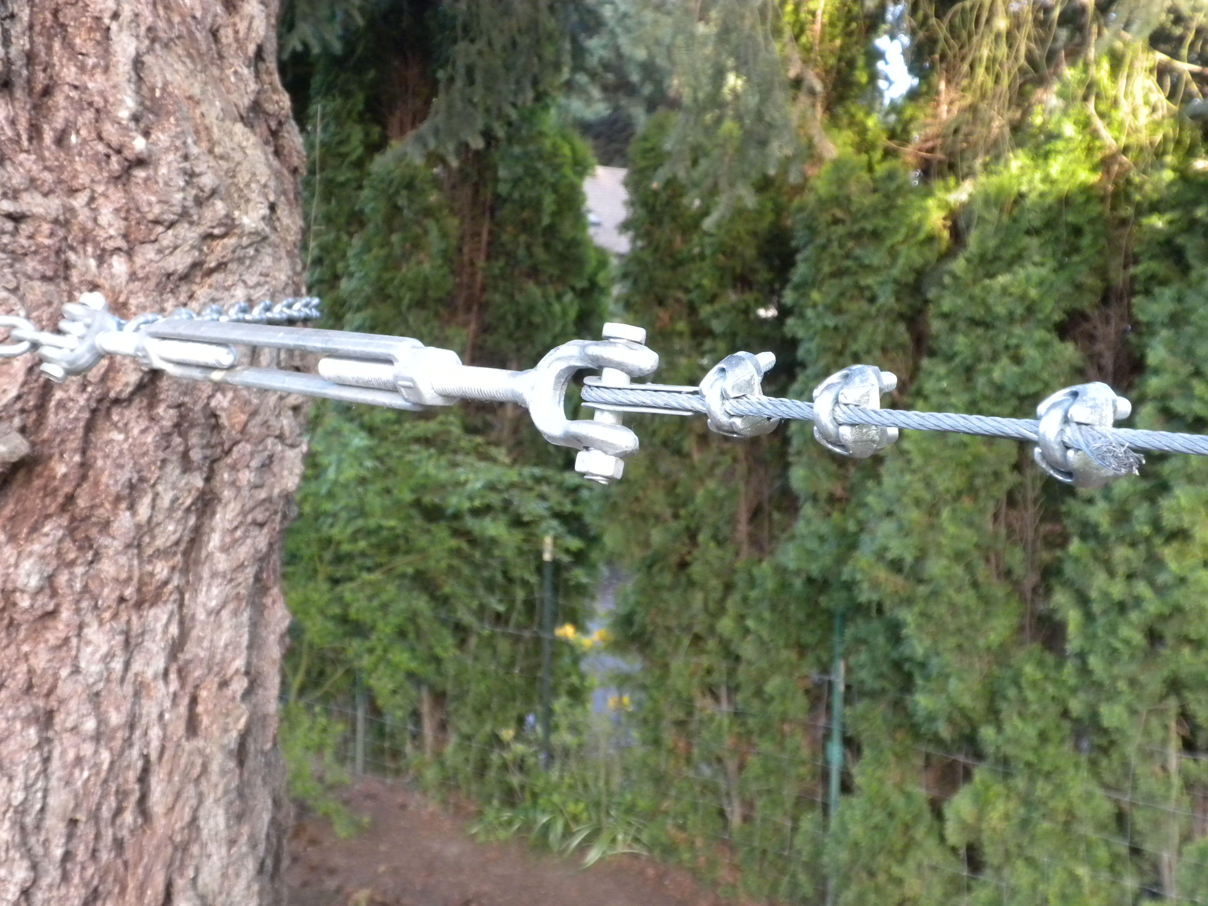 How to build your own backyard zipline | Zip line backyard ...