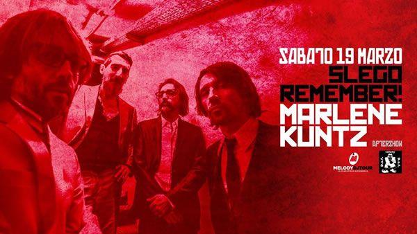 Doppio concerto musicale in attesa alVelvet RiminiconMarlene Kuntze i Slego Remember per sabato 19 marzo 2016.