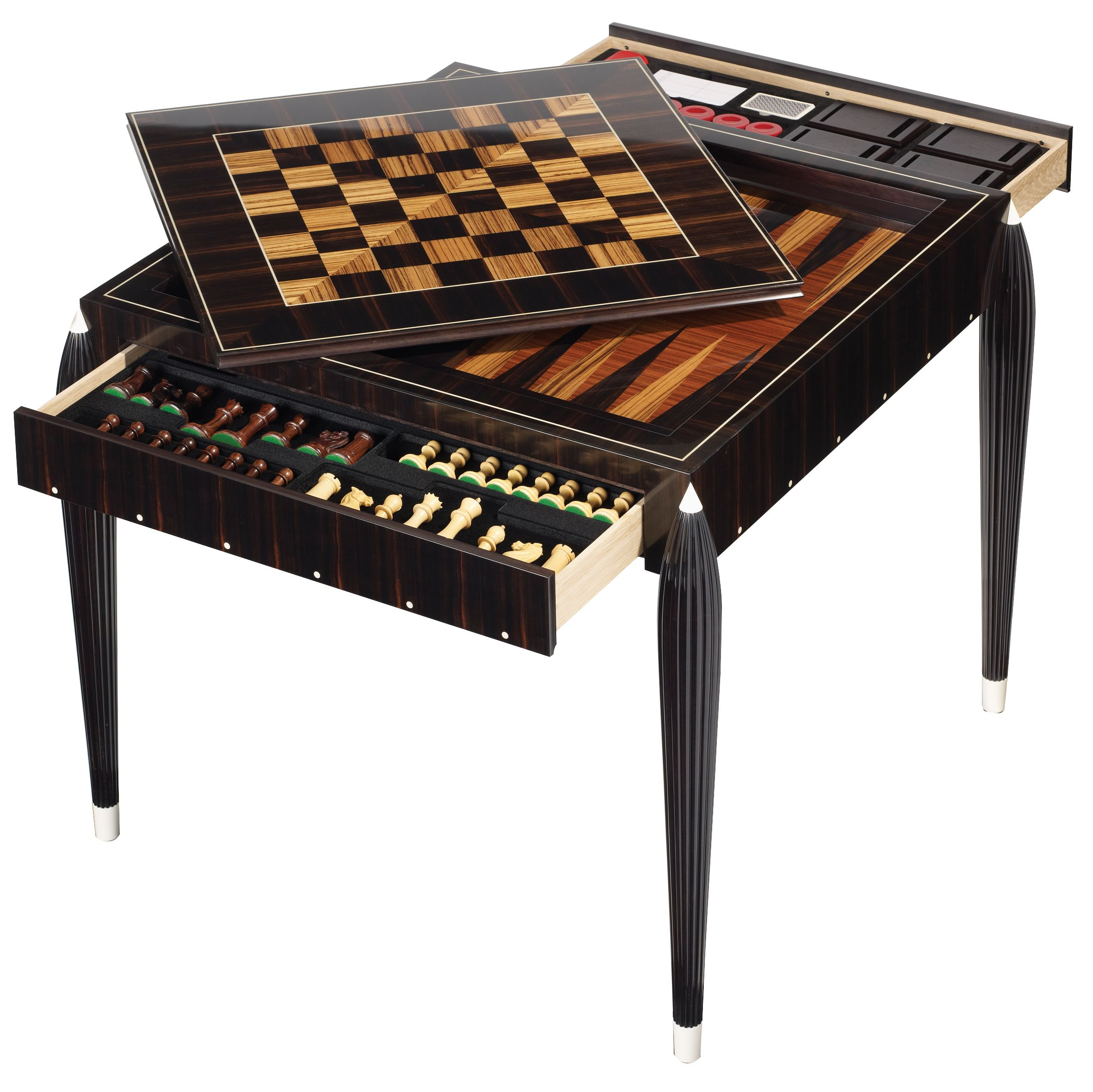Masterpiece 2012 - The Ridotto Games Table #Art #Design #Marquetry
