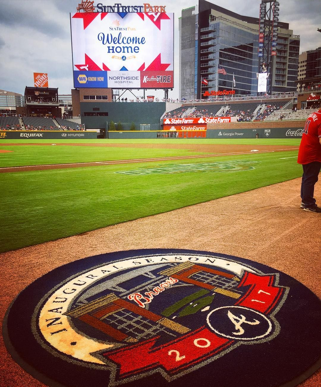 Welcome Home Braves Atlanta Braves Atlanta Braves Baseball