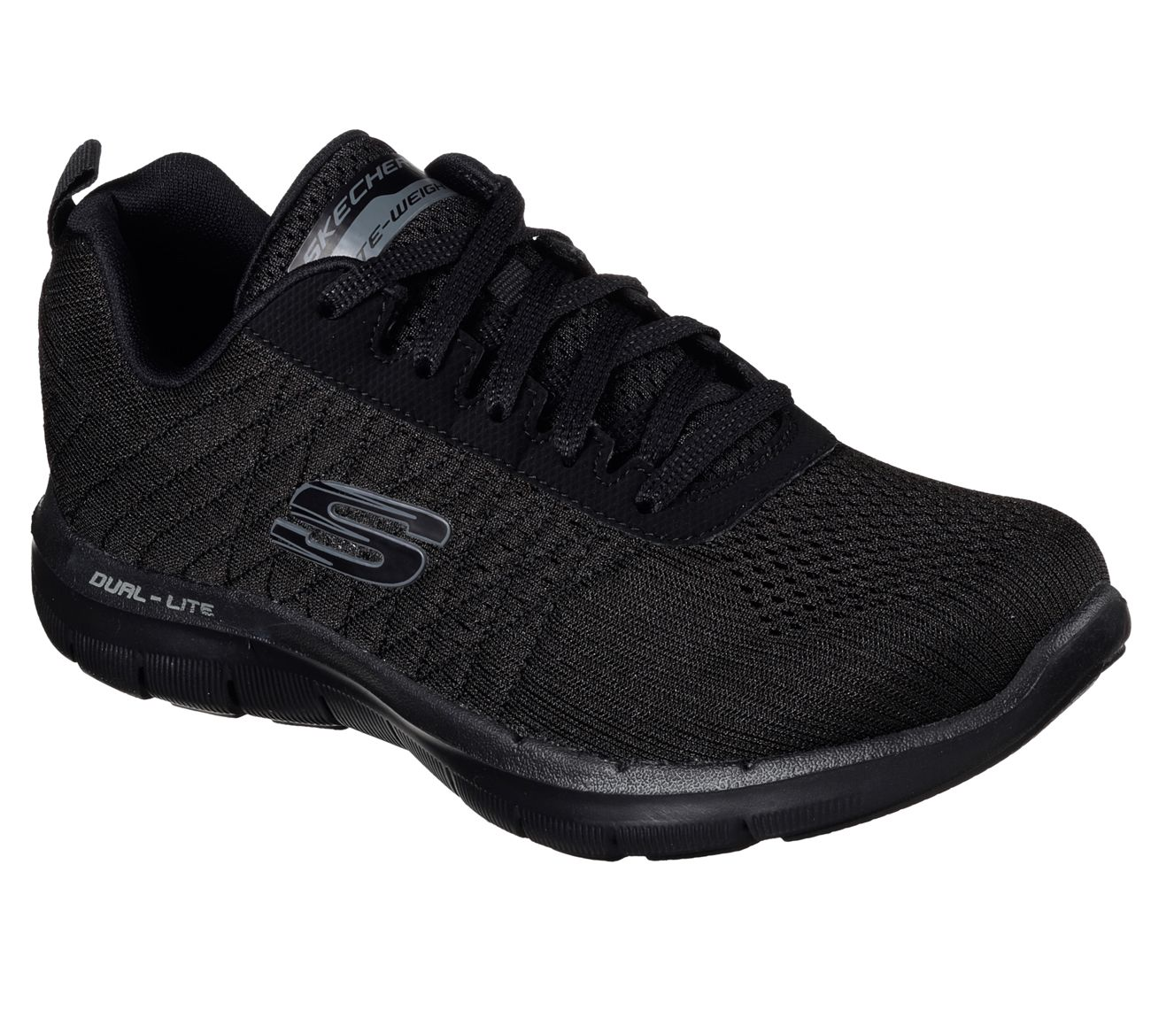 Bate tu récord personal con el calzado SKECHERS Flex Appeal - Break Free.  Parte superior sintética y de suave malla de estilo deportivo en un calzado  para ...
