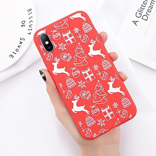 7100a6da0a8b Phone Case For iPhone 6 6s 7 8 Plus X XR XS Max Cute Cartoon Christmas  Santa Claus  phonecases  iphone  iphonecases  cute  christmas  santaclaus   gifts