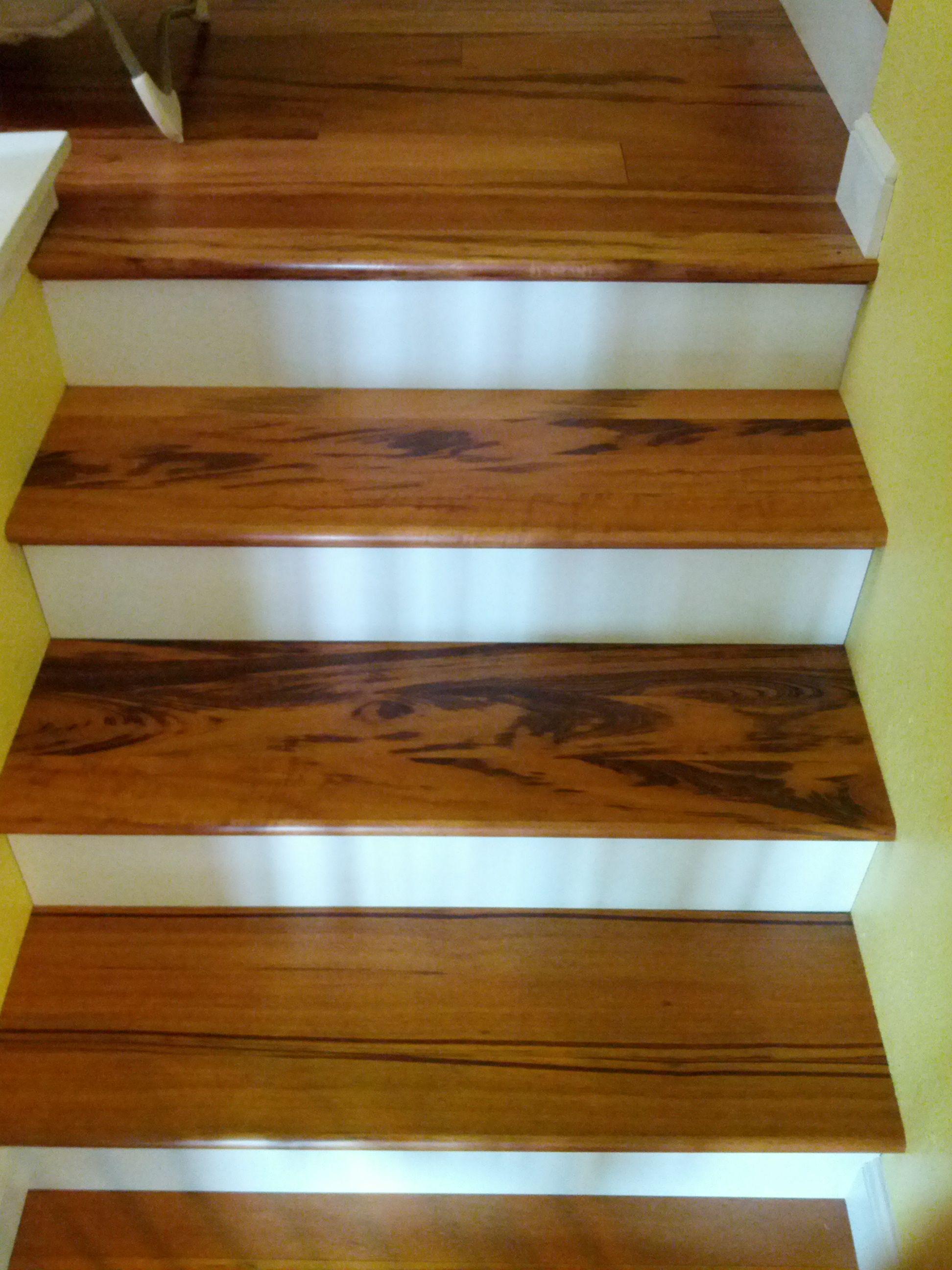 Superb Tigerwood Hardwood Stairs Installed By Precision Flooring. Visit  Http://www.prefloors