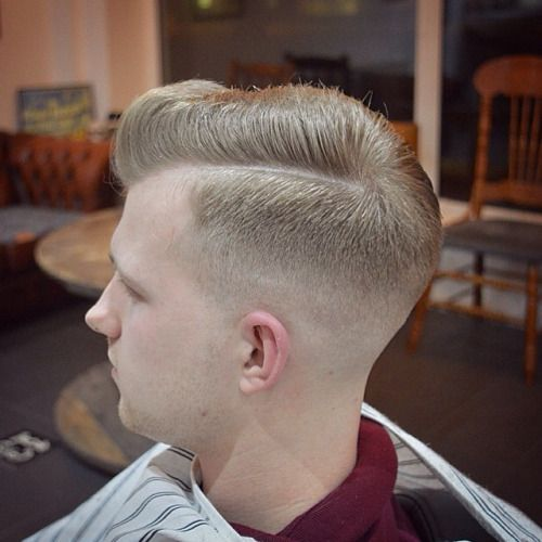 Blow dried into shape, no product #menshair #mensstyle #mensgrooming #gentscut #haircut #sidepart #executivecontour #pomp #skinfade #baldfade #fades #fadegame #taper #classic #oldschool #barber #barbering #barbergang #barberlife #ukbarber #barbersinctv #internationalbarbers #barbershopconnect #nwb #folsombarberclub #birmingham #solihull #uk