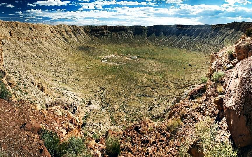 Vredefort Crater: Asteroid impact date: Estimated 2 billion years