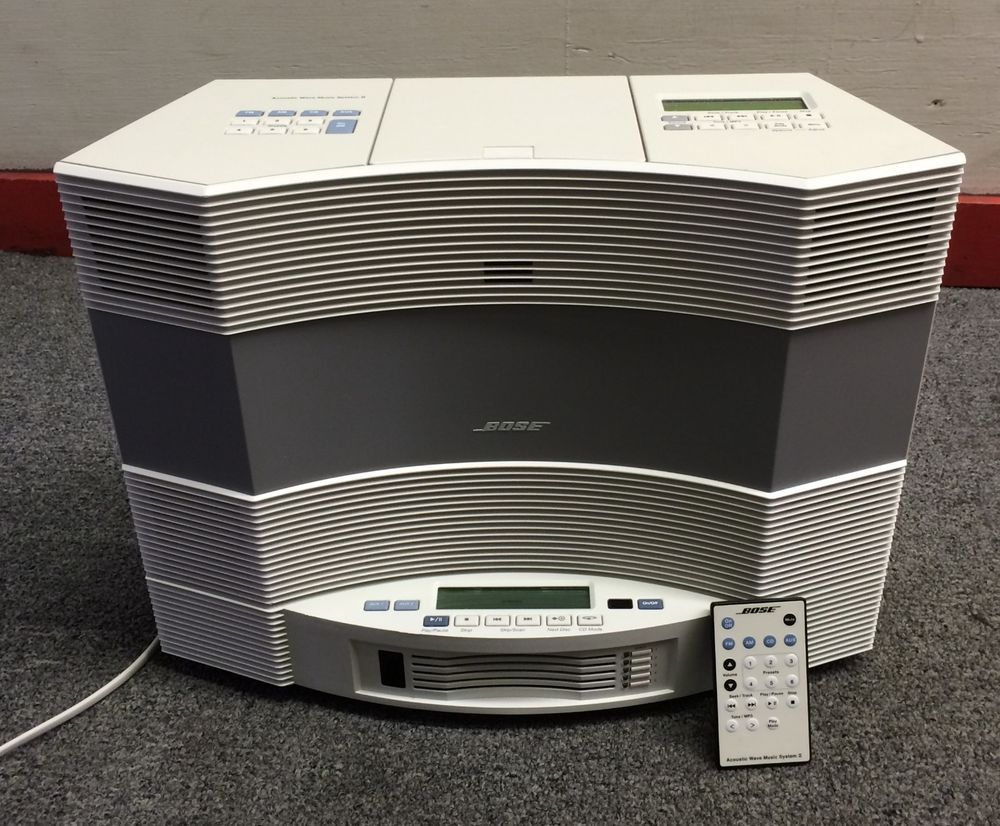BOSE ACOUSTIC WAVE MUSIC SYSTEM II + MULTI DISC CHANGER +
