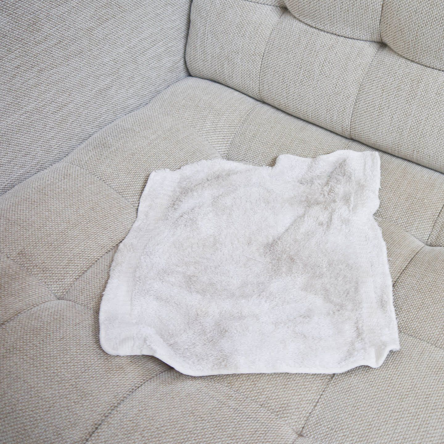 Refresh Your Fabric Couch With This Diy Cleaning Method Clean Sofa Clean Fabric Couch Clean Sofa Fabric