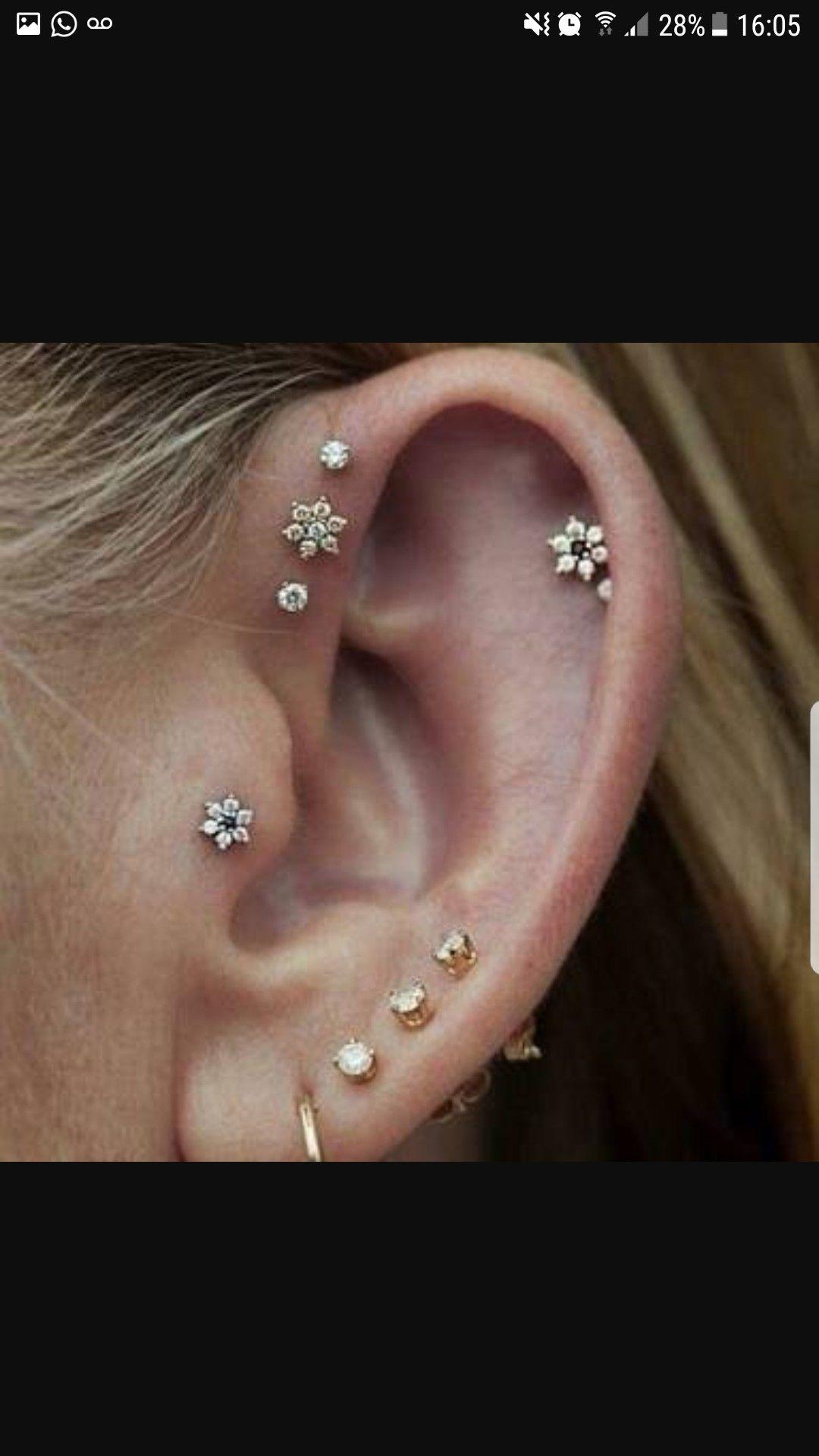 Healed up nose piercing  Pin by Paula Zanferrari on Pircingus  Pinterest