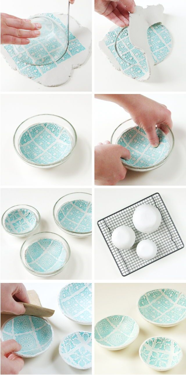 20 Creative DIY Ideas to Make a Unique Bowl | Clay bowl, DIY ideas ...