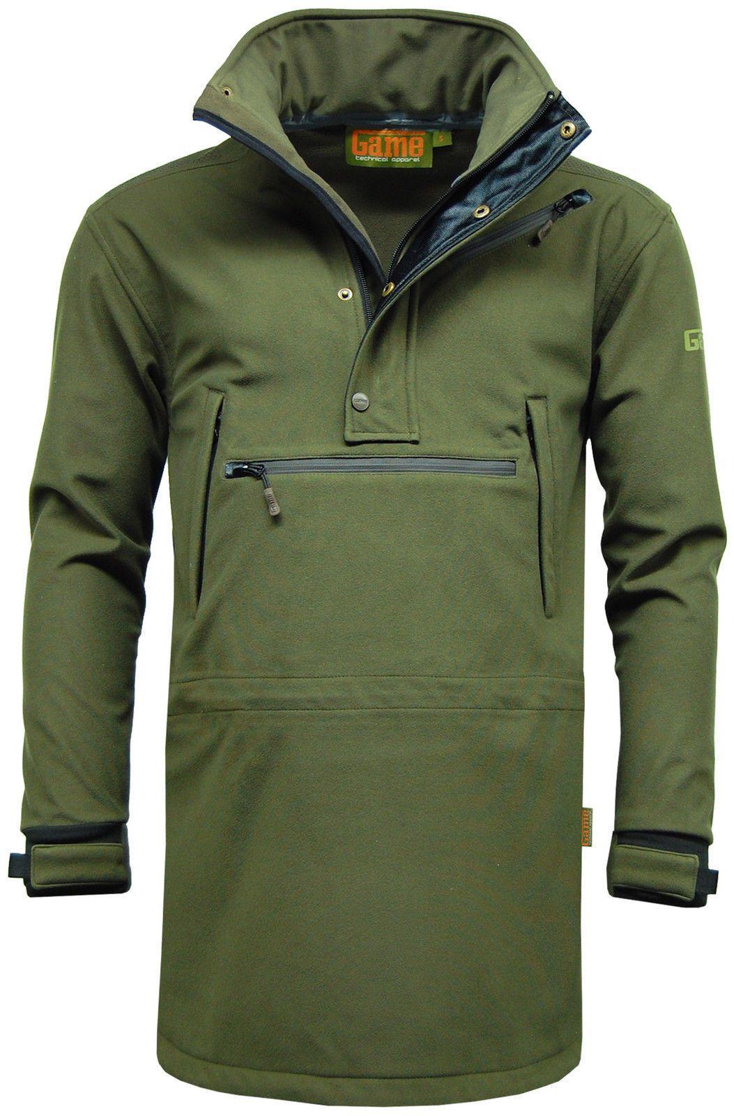 aac77cfe9b7c71 Mens Game Stalking Smock Waterproof Breathable Hunting Shooting Jacket Coat  New Hunting Jackets