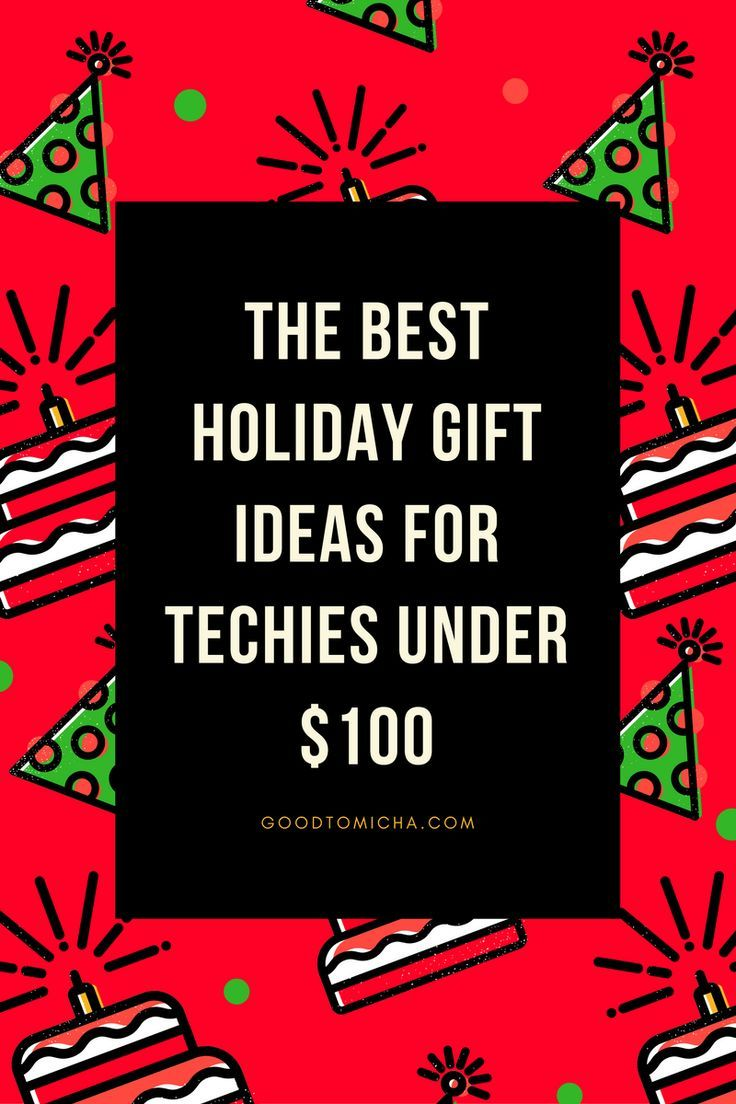 15 Amazing Gift Ideas for Techies Under $100 // GoodTomiCha Blog