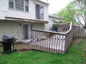 a deck should be checked at least once a year here are a few tips