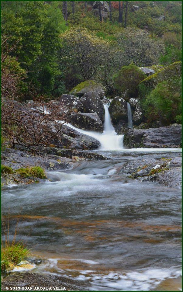 Fervenza Da Misarela Río Pedras A Pobra Do Caramiñal Rías Baixas Galicia A Coruña