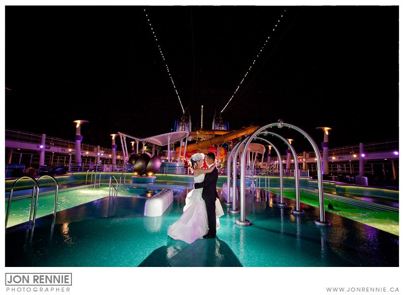 Cruise Ship Wedding NCL Epic