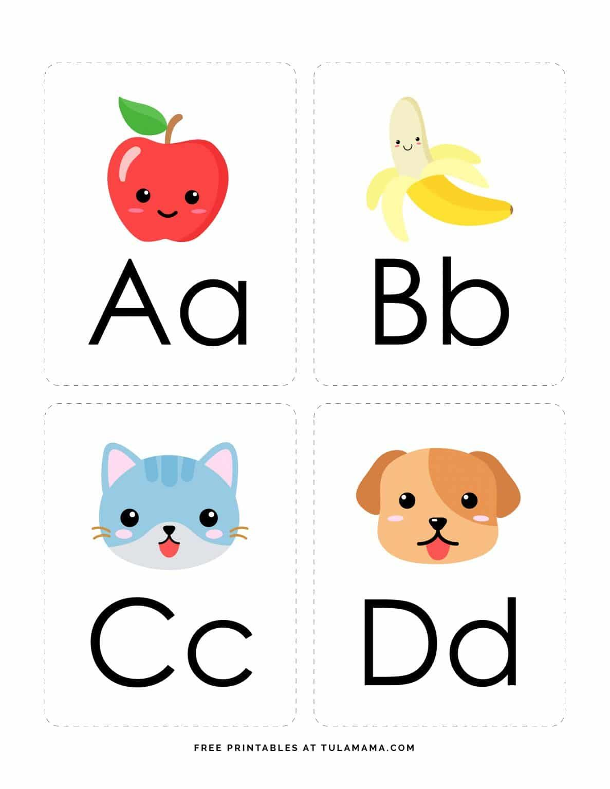 Fun Free Engaging Alphabet Flash Cards For Preschoolers Alphabet Flashcards Printable Flash Cards Abc Flashcards
