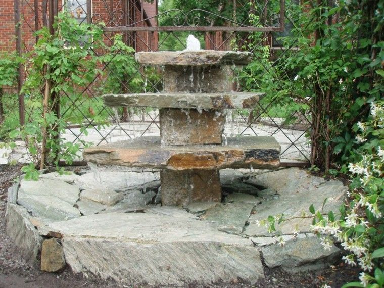 Fuentes de jard n 100 modelos de espect culos acu ticos for Diseno de fuente de jardin al aire libre