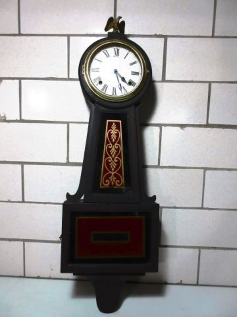 Sessions Wall Clock Wind Up Wi Auctions Online Proxibid Clock Wall Clock Antique Wall Clock
