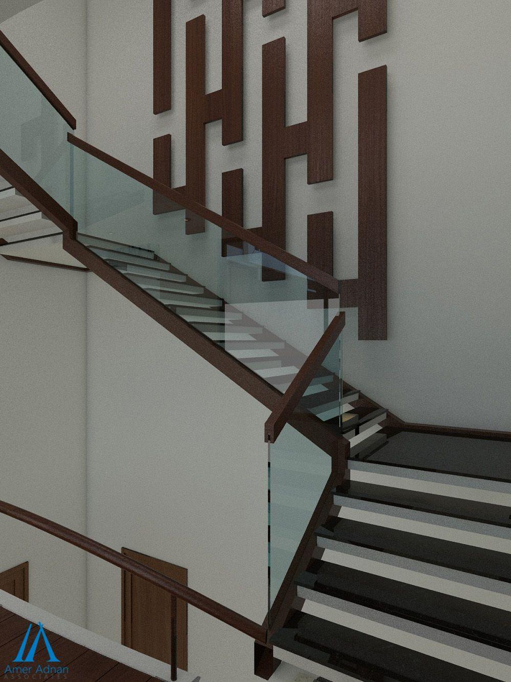 modern lobby entrance 3d design ideas by aaa - Home Interior Design Ideen Pakistan