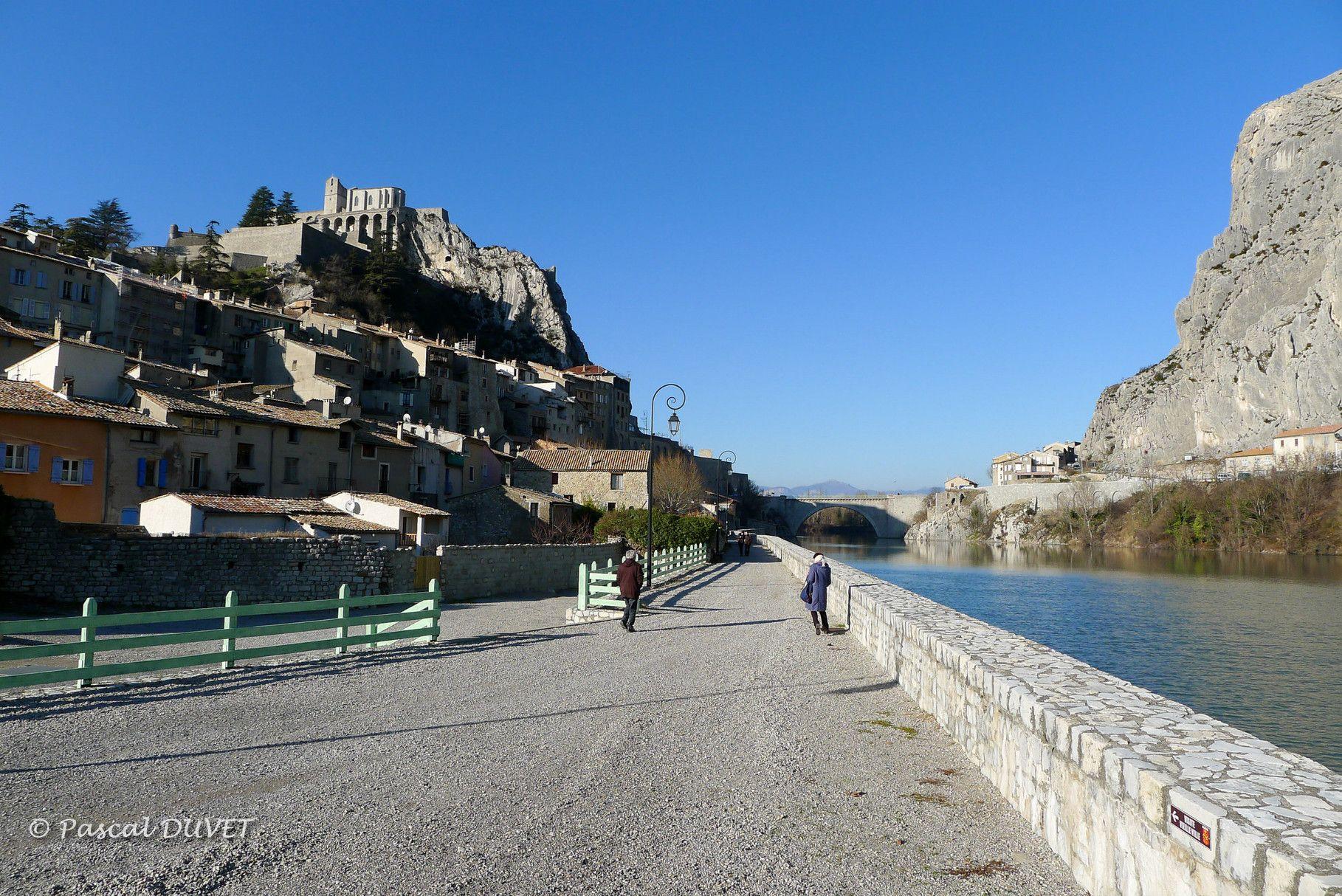SB10 - Un après-midi d'hiver à Sisteron - Alpes de Haute Provence 04