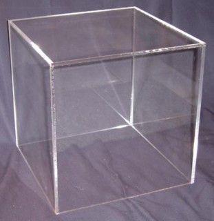 5 Sided Cube In Acrylic Plexiglas Plexiglass Lucite Plastic