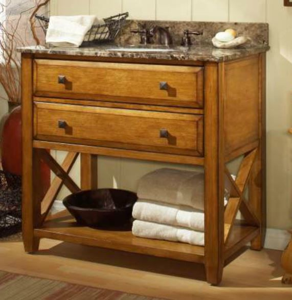 Quality Furniture Makers: The Casual Essence Bath Vanity From Sagehill Designs. Find