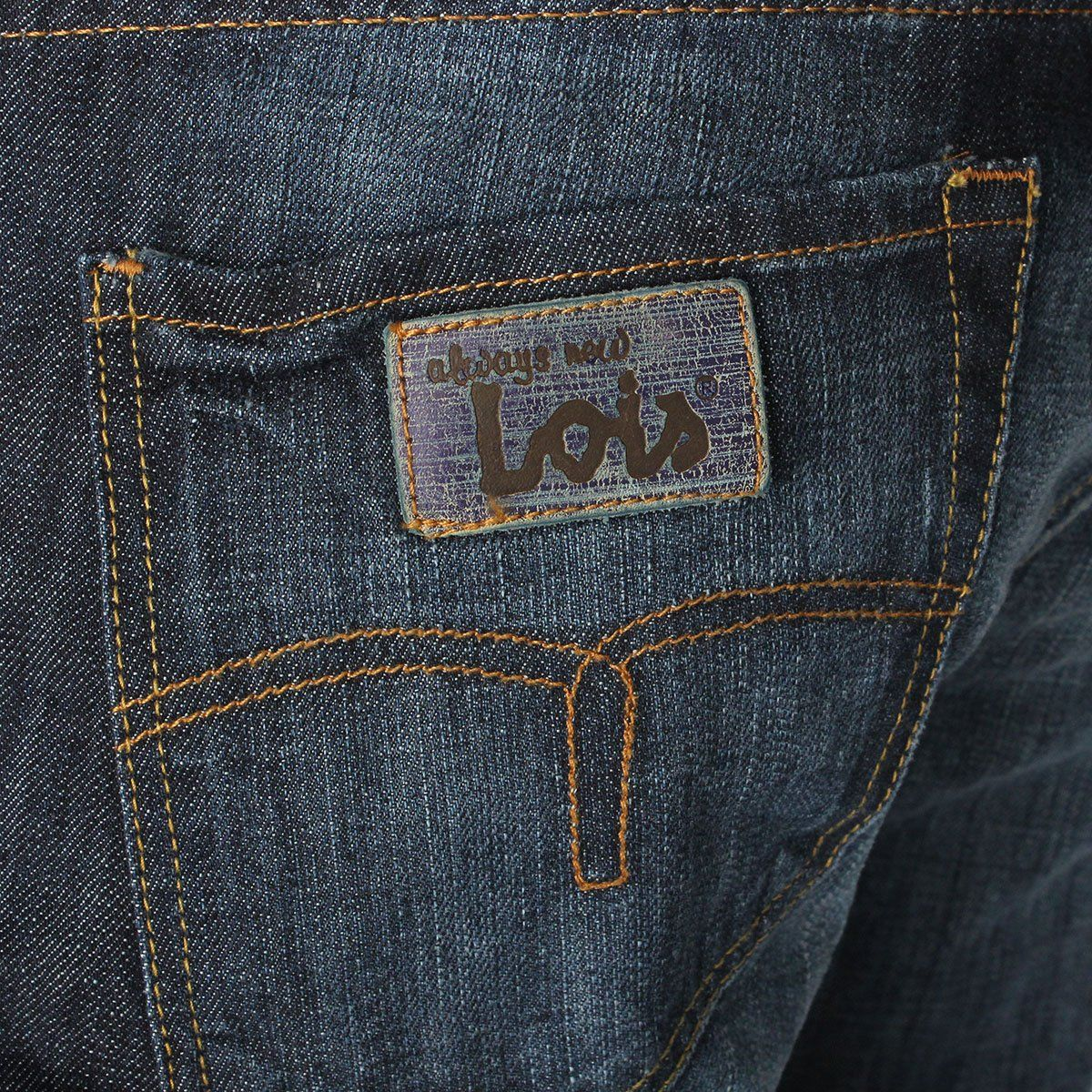 Lois Jeans Very Simply And Fit Men S Denim Style Leather Jeans Mens Jeans