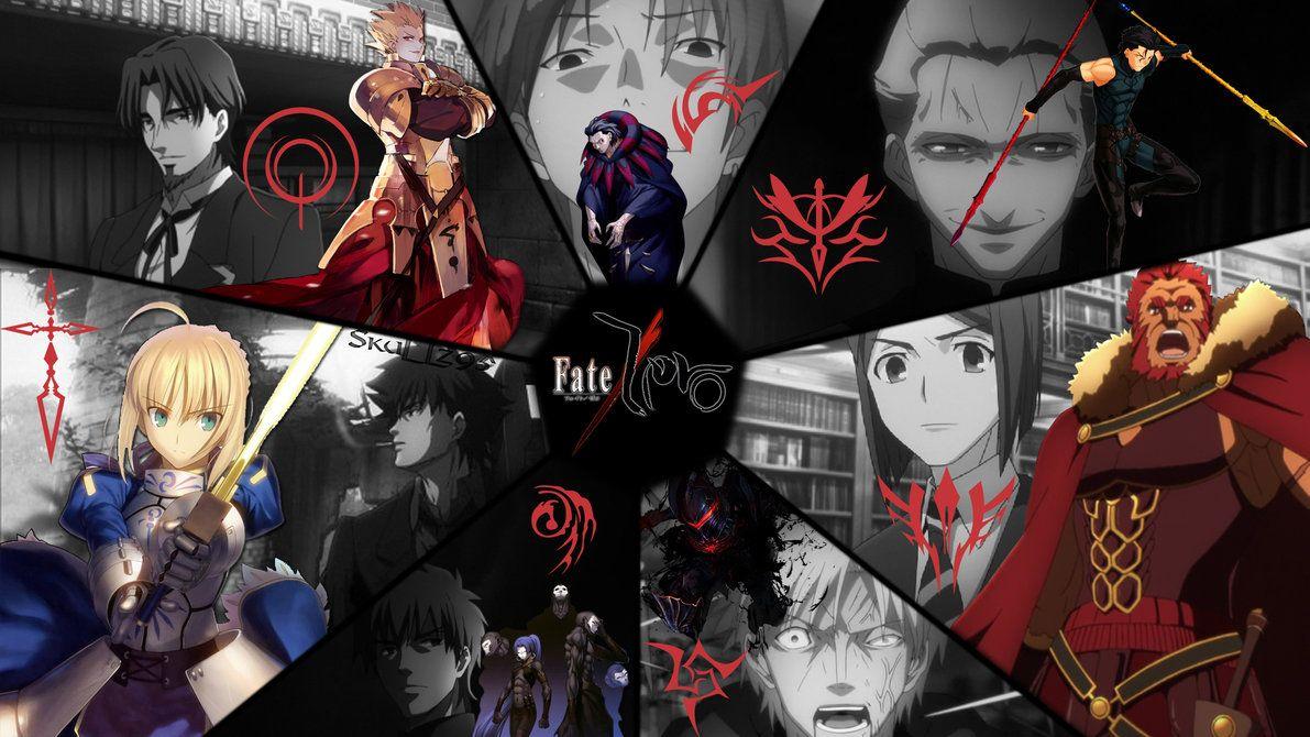 Fate Zero Masters And Servants Wallpaper By Skullz95 Deviantart